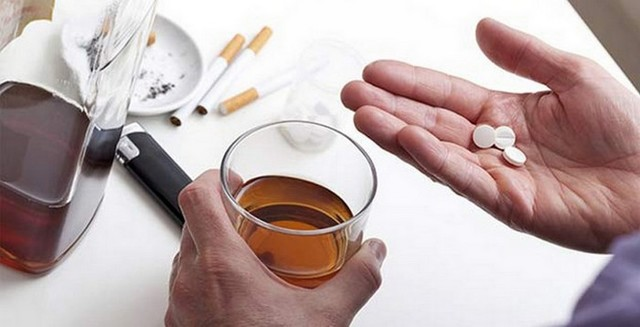 Нолицин и алкоголь – через сколько можно пить?