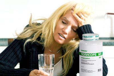 Полисорб от похмелья: как принимать при опьянении?
