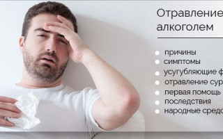 Первая помощь при передозировке алкоголем. Что делать с симптомами и последствиями